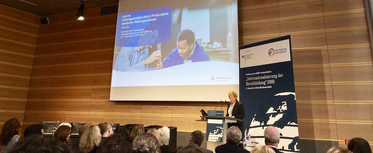 Katja Kaiser - Konferenz zur Internationalisierung der Berufsbildung