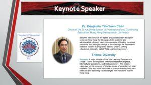 Benjamin Tak-Yuen Chan International Vocational Education and Industry Training Association Symposium
