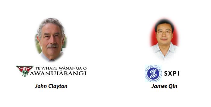 John Clayton James Qin International Vocational Education and Industry Training Association Symposium